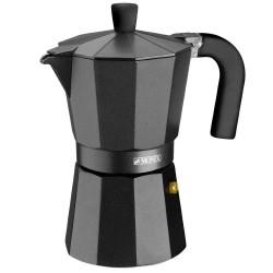 Cafetera Aluminio Vitro Noir 12 Tazas