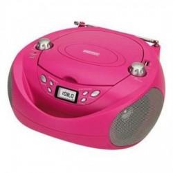 Radio CD con USB Daewoo DBU-37 Rosa