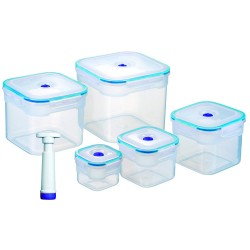 SET DE 5 TUPPERS STORE VAC