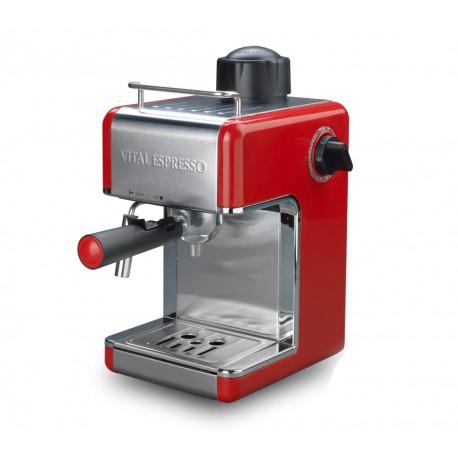 Cafetera Vital Espresso 4 Tazas - 800W - 3,5 Bar