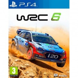 Juego World Rally Championship WRC 6 para PS4