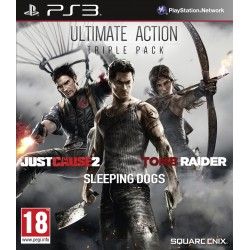 Juego Ultimate Action Triple Pack para PS3