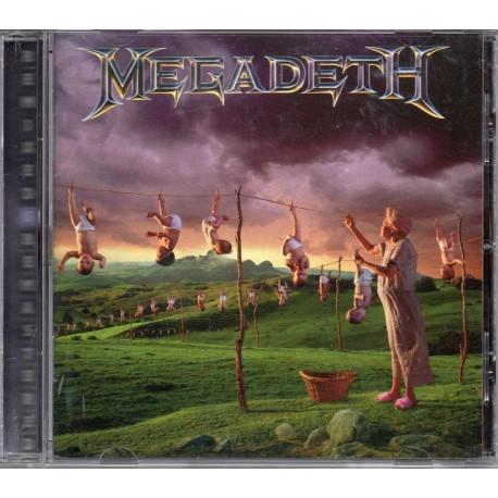 CD Megadeth - Youthanasia (Remastered)