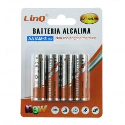 Blister de 4 Pilas Alcalinas AA LR6
