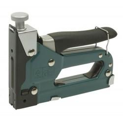 Grapadora Manual + Grapas Mannesmann M48410