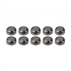 10 Pilas de botón Alcalinas AG-5