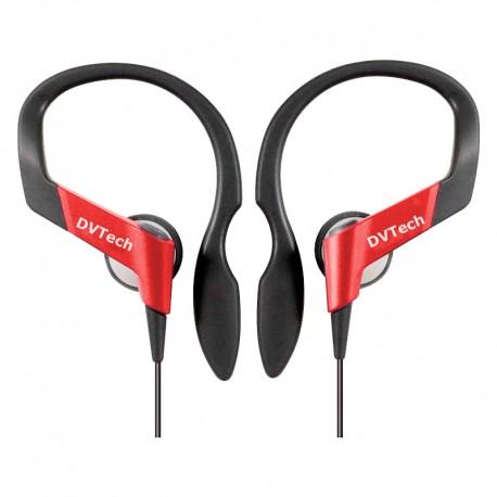 Auriculares para Correr DV-Tech - Rojos
