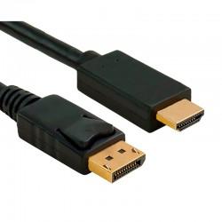 Cable de DisplayPort a HDMI - 1.8m