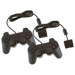 2x Mandos para PlayStation 2 y 1