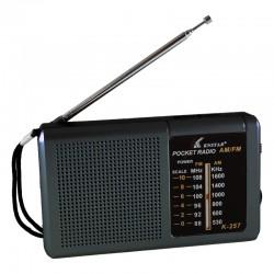 Radio de Bolsillo Portátil digital pilas