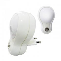 Luz de Noche LED Automática con Sensor Crepuscular