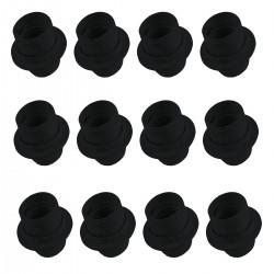 Casquillo Portalamparas E27 Termoplástico - Negro