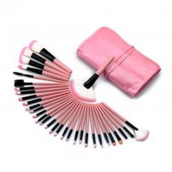 Juego 32 Pinceles de Maquillaje Ojos tipo kabuki brochas make up