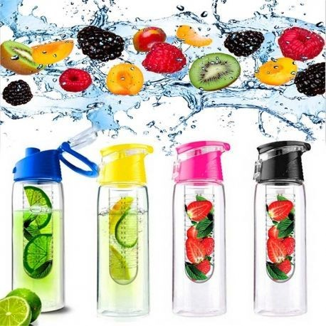 4x Botellas 800ML Infusión sin Agujero