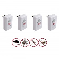 4x Repelente de Insectos Pest Reject