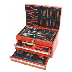 Caja de Herramientas 155 Piezas Mannesmann M29066