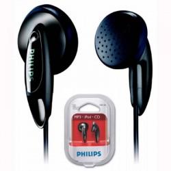 Philips SHE1350 - Auriculares de botón,negro