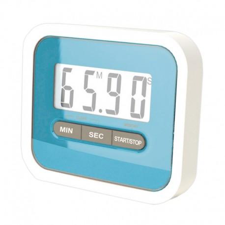 1c4880a3d056 reloj de cocina digital LCD azul barato