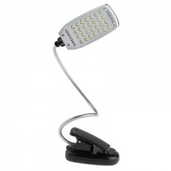 Lámpara Flexible de 28 LEDS con Pinza