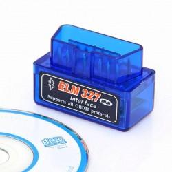 Mini Escáner Bluetooth ELM327 OBDII V1.5