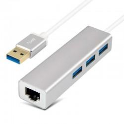 Adaptador Hub Red Ethernet USB 3.0