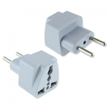 Adaptador Enchufe UK Inglés a EU Europeo