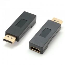 Adaptador de DisplayPort Macho a HDMI Hembra
