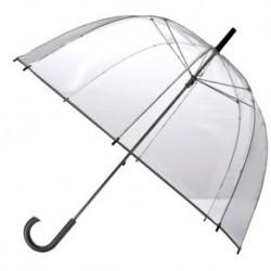 Paraguas de Copa Transparente con Mango