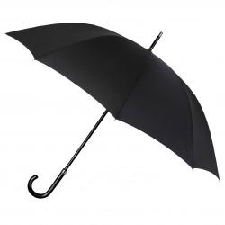 Paraguas Negro con Mango Curvado