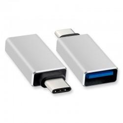 Adaptador USB 3.0 Hembra a Tipo C USB 3.1 Macho
