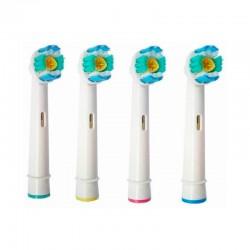 4 Recambios Cepillo de Dientes Oral B 3D White