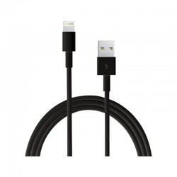 Cable de datos IPHONE NEGRO 3 METROS