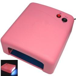 Lampara UV Secador Uñas De Gel - Rosa