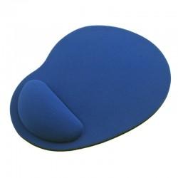 Alfombrilla De Ratón Apoyo Muñeca Azul