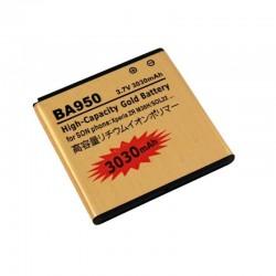 Bateria dorada BA950 para Sony Xperia