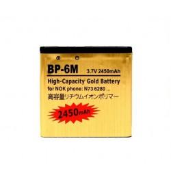 Bateria Dorada para Nokia BP-6M 2450 mAh