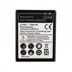 Batería Negra para Samsung Galaxy I8150