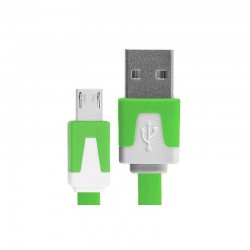 Cable de datos plano micro USB