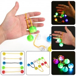 Juguete Antiestres Finger Balls con LED