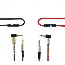 Cable Jack 3,5mm con Micrófono - 1,2m