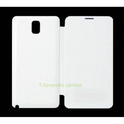 Funda Flip Cover Note 3 N9000 Blanca