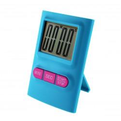 Reloj de Cocina Azul Teclas Rosas