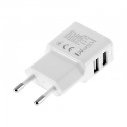 ADAPTADOR DE RED DOS 2 USB BLANCO