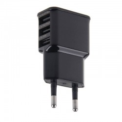 Adaptador de Red 3 Usb Negro