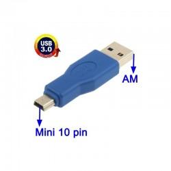 Adaptador mini USB a USB 3.0