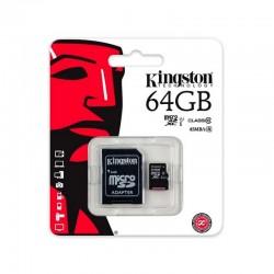 Tarjeta de Memoria Micro SD Kingston - 64GB