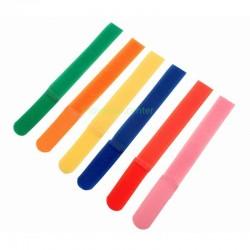 6 Tiras de Velcro Organizadoras de Cables