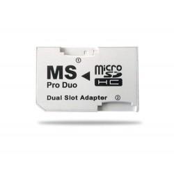 Adaptador Dual Micro SD SDHC hasta 32G