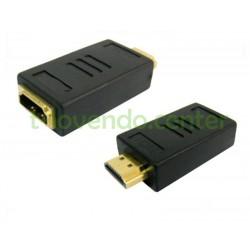 Adaptador de HDMI Macho a HDMI Hembra