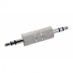 Adaptador conector clavija audio jack